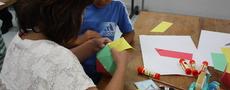 親子で楽しむ算数教室-三角形のふしぎをさがそう!-